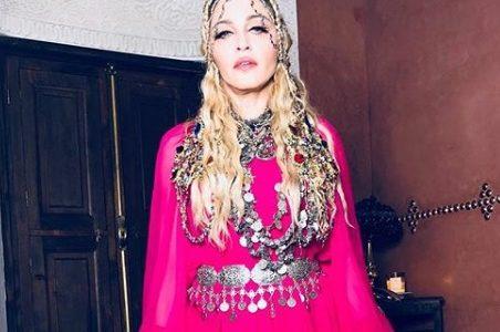 マドンナがモロッコで60歳の誕生日パーティー【インスタ画像】