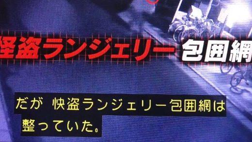 【動画】警察24時【怪盗ランジェリー~丸出し散歩】列島警察捜査網